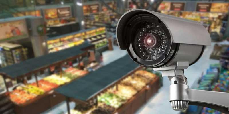دوربین مدار بسته برای مغازه